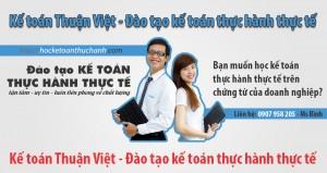 học kế toán thực hành tại TP.HCM