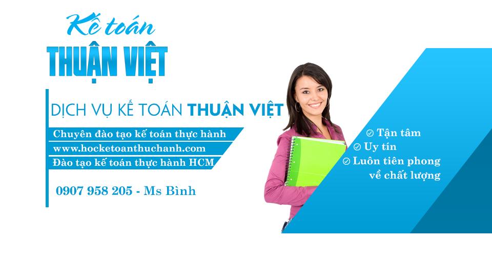 Học thực hành kế toán tổng hợp chất lượng tại TP.HCM