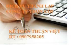 Dịch vụ thành lập công ty uy tín , chất lượng ở tại Tp.HCM