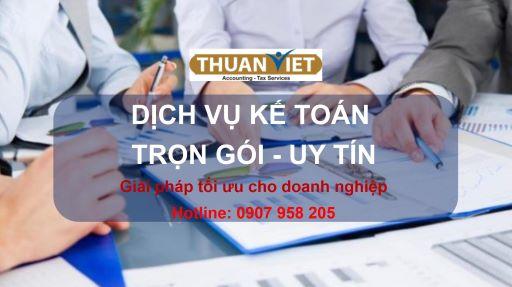 Dịch vụ báo cáo thuế ở quận 1, Dịch vụ kế toán – Kế Toán Thuận Việt